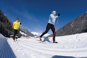 Cross-country skiing on the Hintertux | © Bernd Ritschel