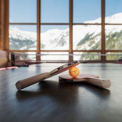 Tischtennis Tisch im Aufenthaltsraum