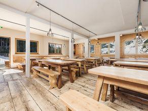 Speisesaal im Alpincenter Hochfügen