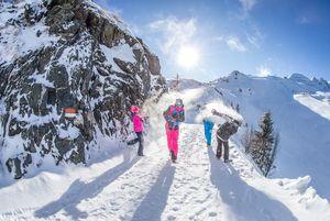 Winter hiking | © Andi Frank