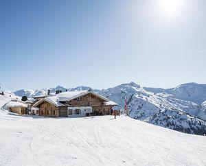 Holzalm im Skigebiet Hochfügen| © Daniel Zangerl