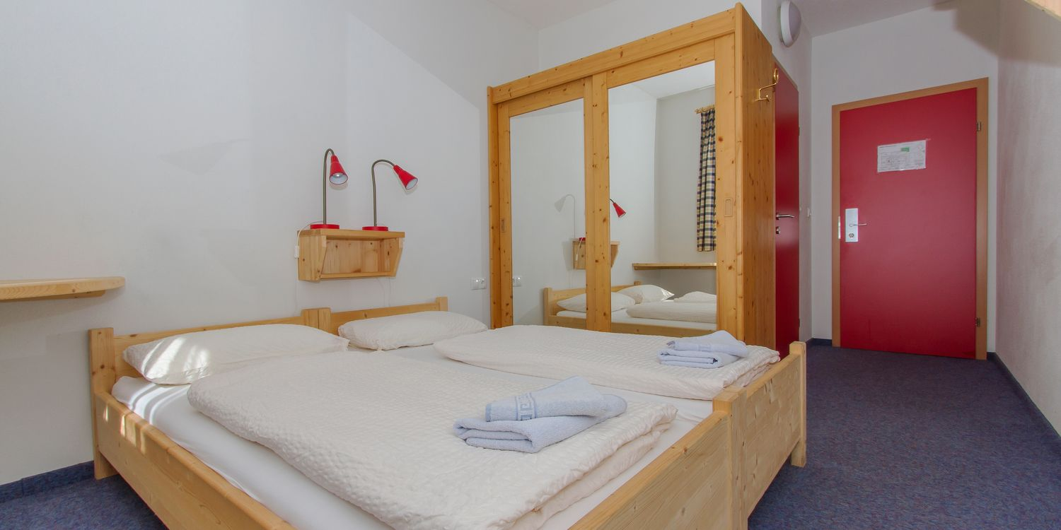 Double room in the Alpincenter