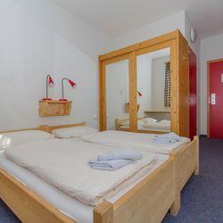 Doppelzimmer im Alpincenter